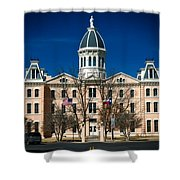 Presidio County Courthouse Shower Curtain
