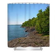 Presque Isle Shower Curtain