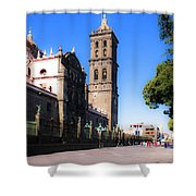 Puebla Mexico 4 Shower Curtain