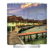 Punta Caracol Shower Curtain