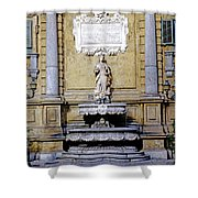 Quattro Canti In Palermo Sicily Shower Curtain