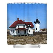 Race Point Lighthouse Shower Curtain