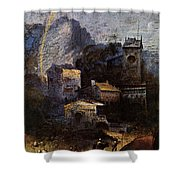 Raphael The Madonna Of Foligno  Shower Curtain
