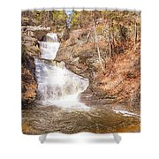 Raymondskill Falls Shower Curtain
