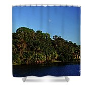 Red Bugg Slough Shower Curtain