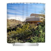 Red Hills Visitor Center Shower Curtain