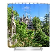 Regaleira Palace Sintra Shower Curtain