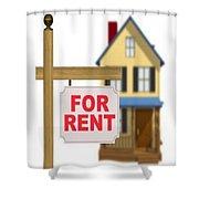 Rental Apartment Shower Curtain
