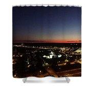 Richmond Sunset Shower Curtain