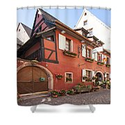 Riquewihr France Shower Curtain