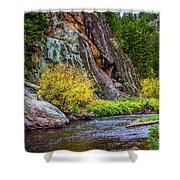 River Of No Return Shower Curtain