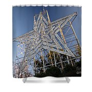Roanoke Star In Late Afternoon Shower Curtain