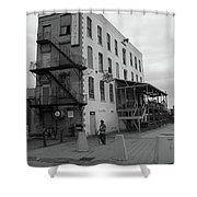 Rochester New York - Jimmy Mac's Bar Shower Curtain