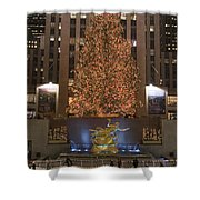 Rockefeller Center And The Famous Shower Curtain