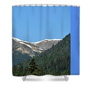 Rocky Mountains 2 Shower Curtain