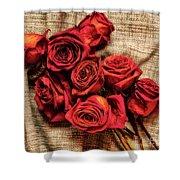 Rose - Flower Shower Curtain