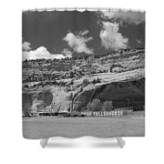 Route 66 - Lupton Arizona Shower Curtain