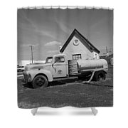 Route 66 - Mclean Texas Shower Curtain