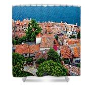 Rovinj - Croatia Shower Curtain