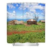 Rural Landscape In Tanzania Shower Curtain