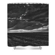 Rural Sunset Beauty Shower Curtain