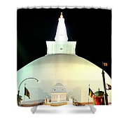 Ruwanwelisaya Pagoda Shower Curtain