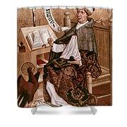 Saint Augustine (354-430) Shower Curtain