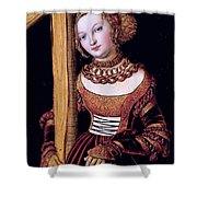 Saint Helena With The Cross Shower Curtain