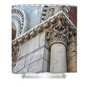 Saint Sernin Basilica Architectural Detail Shower Curtain