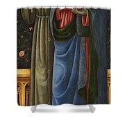 Saints Francis And Mark Shower Curtain