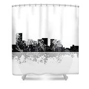 Salem Oregon Skyline Shower Curtain