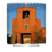 San Miguel Mission Church Shower Curtain