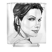 Sandra Bullock Shower Curtain