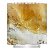 Sandy Wave Shower Curtain