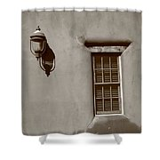 Santa Fe - Adobe Window And Light Shower Curtain