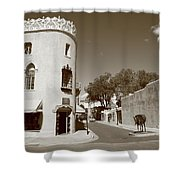 Santa Fe New Mexico Shower Curtain