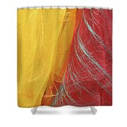 2 Scarves Shower Curtain