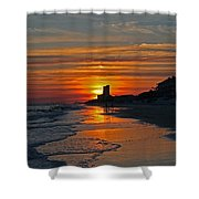 Seagrove Beach Shower Curtain