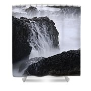 Seal Rock Waves And Rocks 4 Shower Curtain