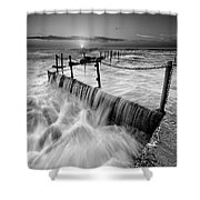 Seascape 20 Shower Curtain
