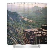 Sedona Mesa Shower Curtain