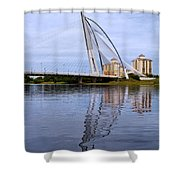 Seri Wawasan Bridge Shower Curtain