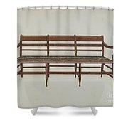 Settee Shower Curtain