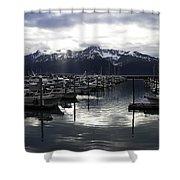 Seward Harbor Shower Curtain