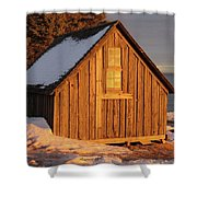 Shack At Stoney Point Shower Curtain