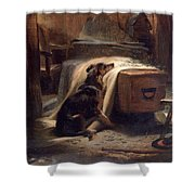 Shepherds Chief Mourner Shower Curtain