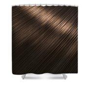 Shiny Brunette Hair  Shower Curtain