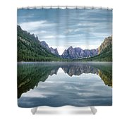 Ship Island Lake Shower Curtain