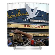 Shoreline Amphitheatre - Dead And Company Shower Curtain