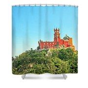 Sintra Pena Palace Shower Curtain